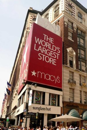Macy's Herald Square flagship in Manhattan, New York