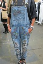 Mad Almadal denim dungaree spotted at Capsule