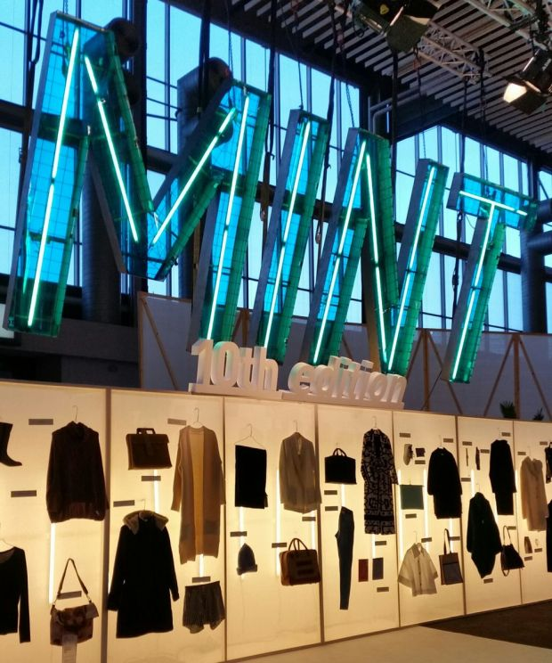 Mint, the show area for sustainable brands