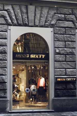 Miss Sixty store at Via Roma, Florence