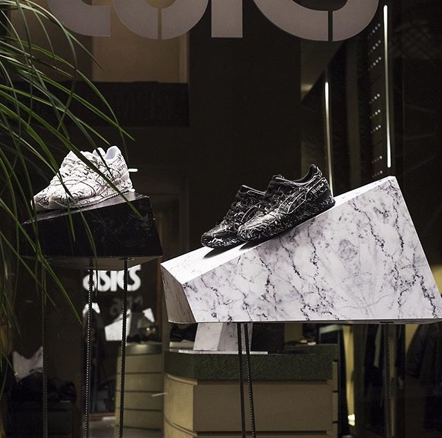 Sneakers' window installation