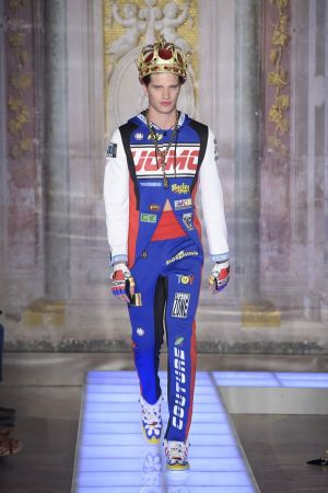 Moschino men's show presented at Pitti