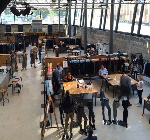 Munich Fabric Start's new Catalyzer area