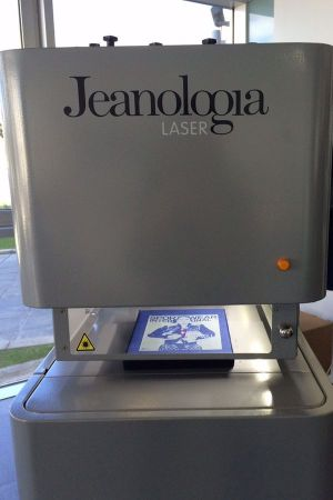 Nano Laser technology by Jeanologia