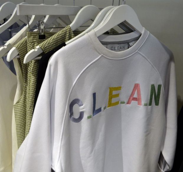 Nice-quality sweater by Christina Ledang's C.L.E.A.N.
