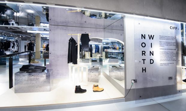 North Wind pop up at Harvey Nichols, London