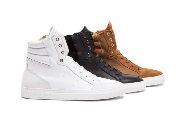 Nubuck high-top sneakers by Grand Voyage