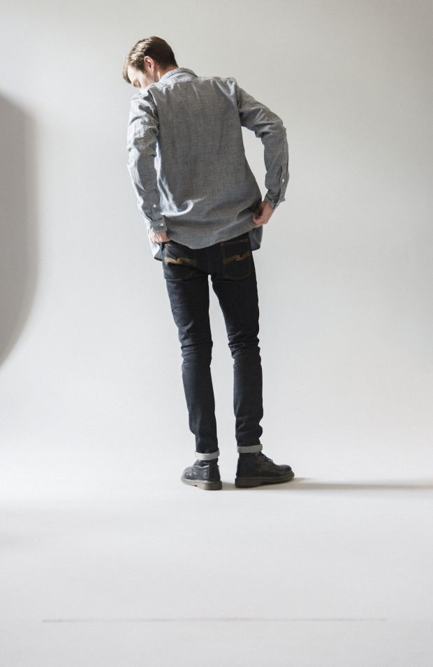 Nudie's new Lean Dean 'US Selvage' denim.