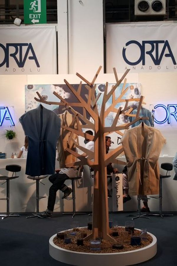 Orta Booth at Denim Premiere Vision, May 2015