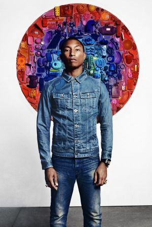 Pharrell Williams for Raw for the Oceans