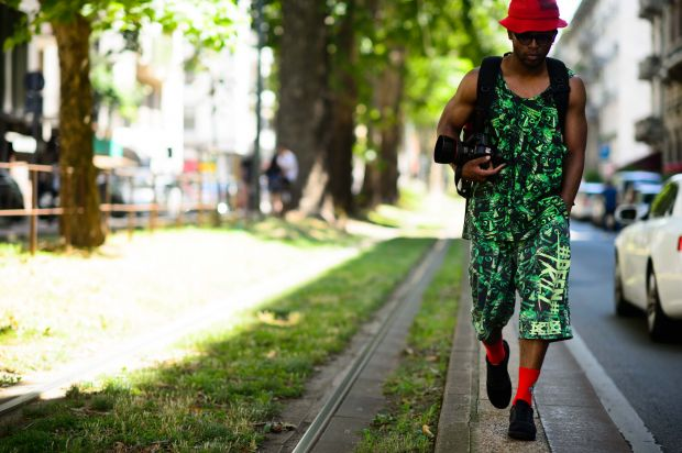 Photo of street photographer Nabile Quenum by Adam Katz Sinding