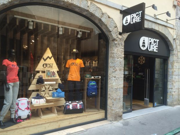 Picture Organic Clothing store in Lyon, France.