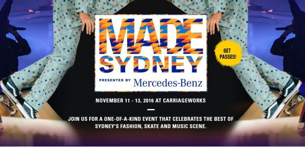 Promotion for MADE Sydney