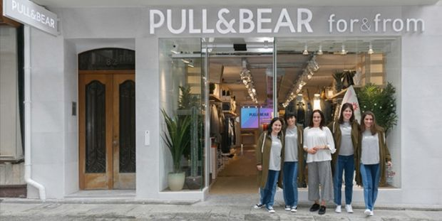 Pull&Bear new 'for&from' store in Ferrol.