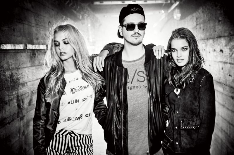 DJ Robin Schulz (center) is the brand ambassador.