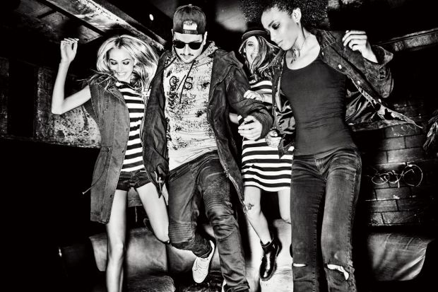 Q/S designed by campaign image featuring brand ambassador Robin Schulz (second from left).