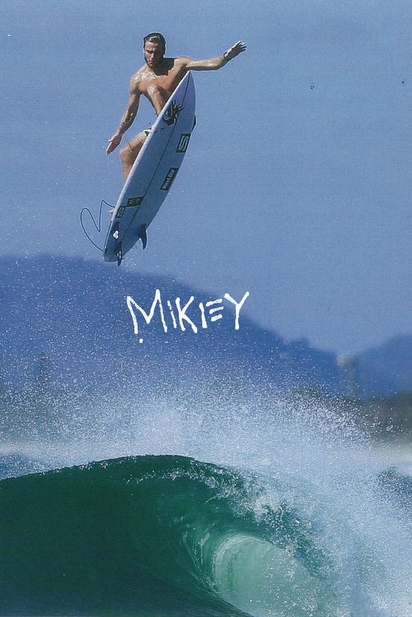 Quiksilver campaign with Pro-surfer