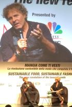 Renzo Rosso speaks at Milano Fashion Global Summit