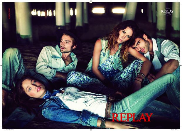 From the archives: Replay spring/summer '11 campaign, shot by Chad Pitman