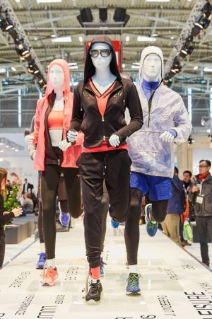 Running was a big topic on the Ispo grounds