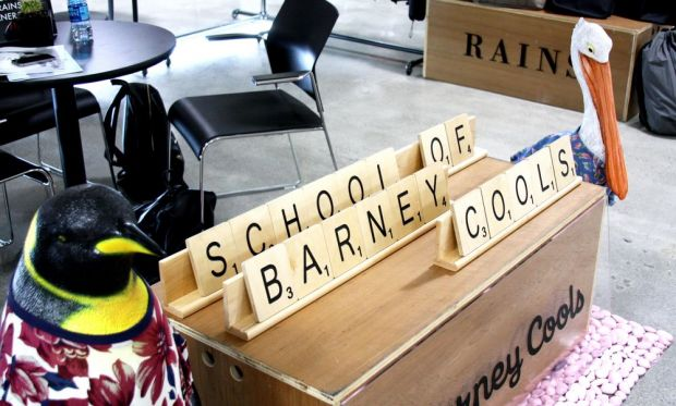 School of Barney Cools