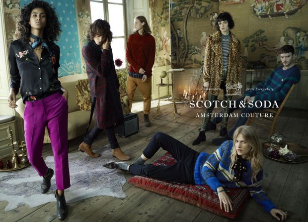 "Scotch & Soda's new campaign ""From Amsterdam, from Everywhere."""