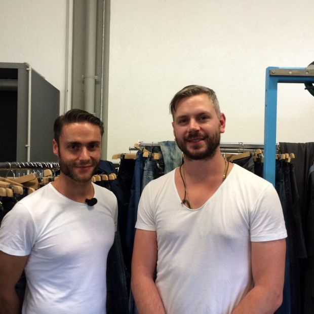 Simon Giuliani (left) and Alberto Rigo, both Candiani Denim