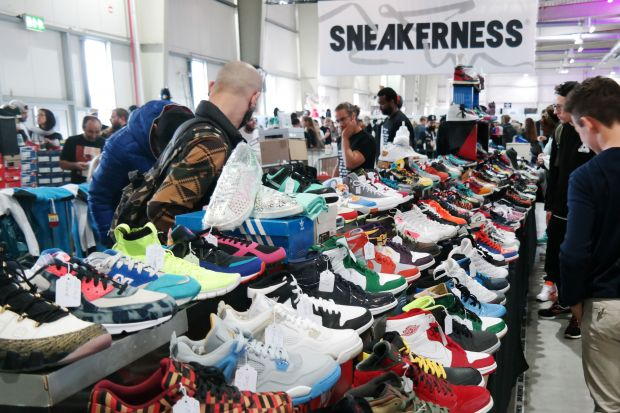 One of Europe's strongest sneaker trade events: Sneakerness in Cologne