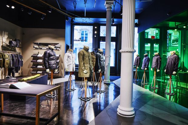 Stone Island in New York