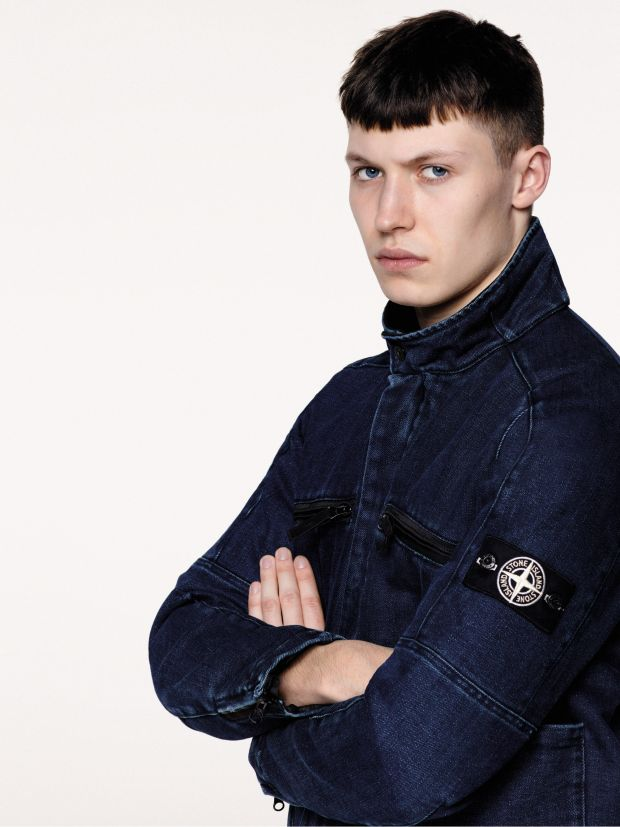 Stone Island launches polypropylene denim