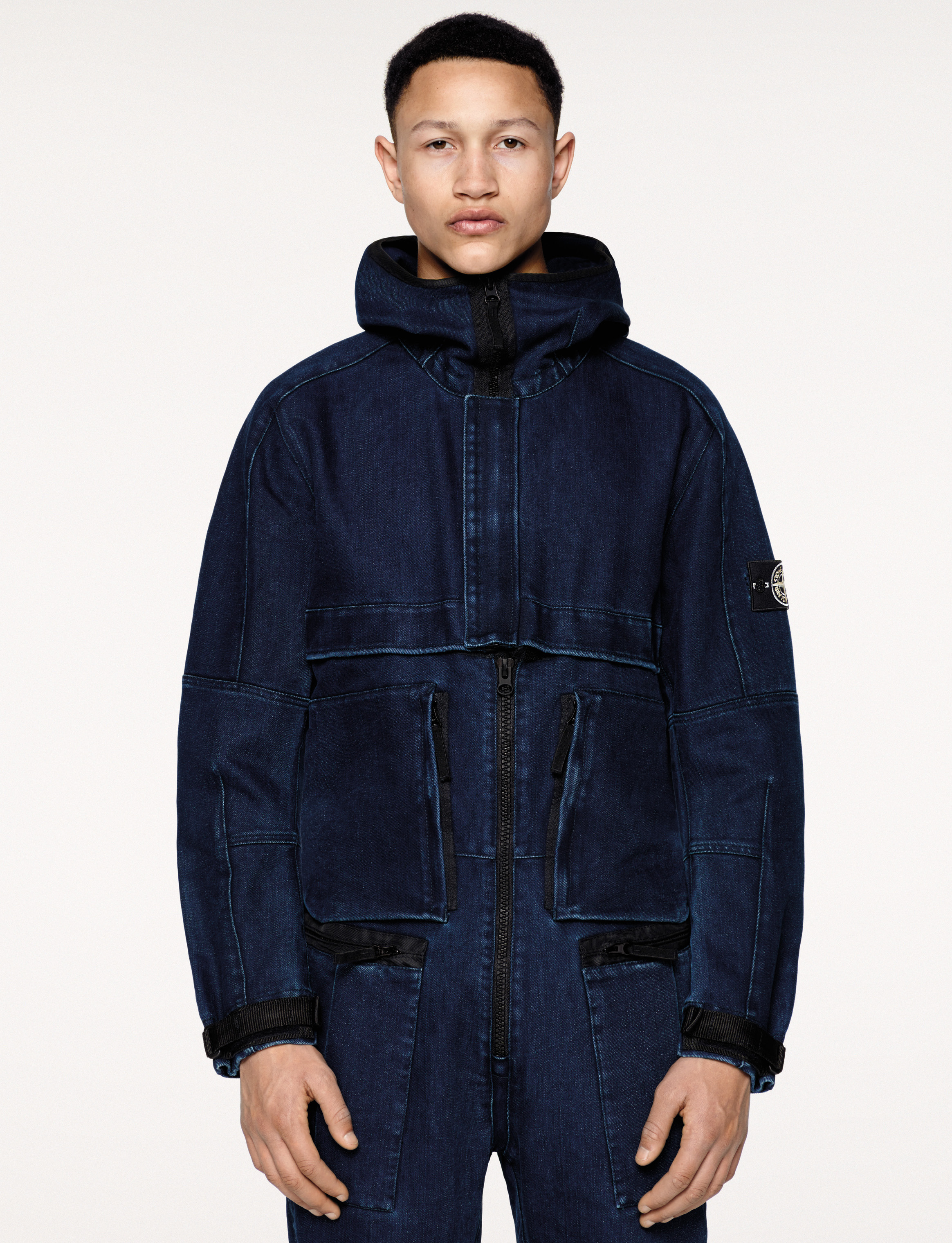 Stone Island bets on polypropylene denim