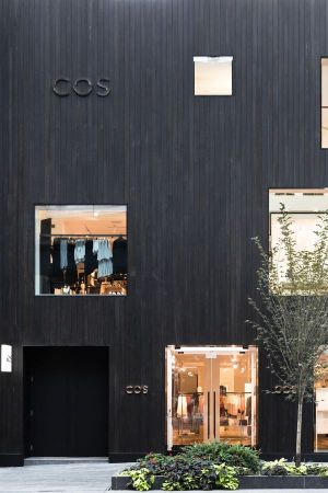 Storefront of the new COS store in Toronto