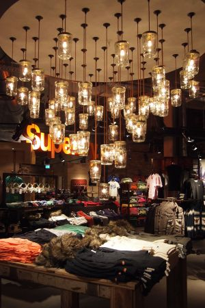 Superdry flagship store London
