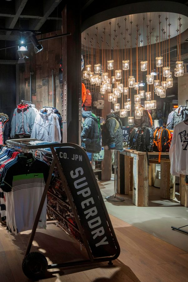 Superdry store in Cologne, Germany