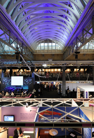 The Grand Hall at Old Billingsgate, photo: Old Billingsgate