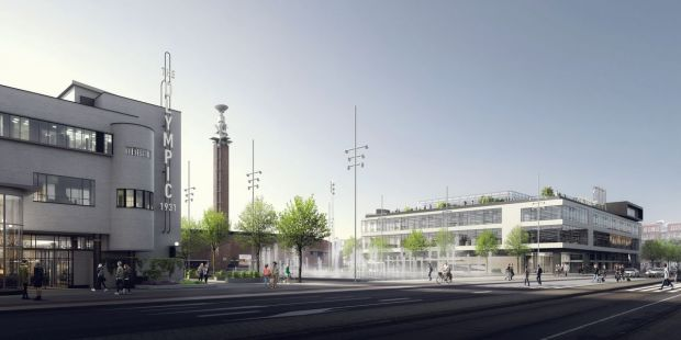 The Olympic Amsterdam area, Under Armour's new base in Europe