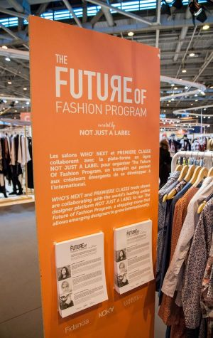 The Future of Fashion Program 2015, created by Not Just a Label (photo by Antoine Motard)