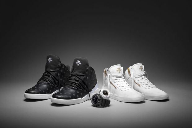 The G-Shock x Supra second collection together will be available from August 1