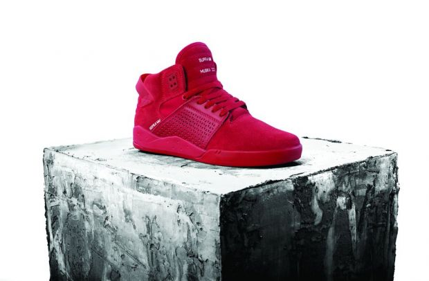 The new Chad Muska Skytop III in red