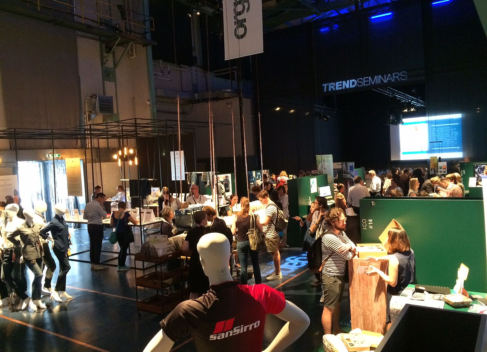 The new Keyhouse area at Munich Fabric Start