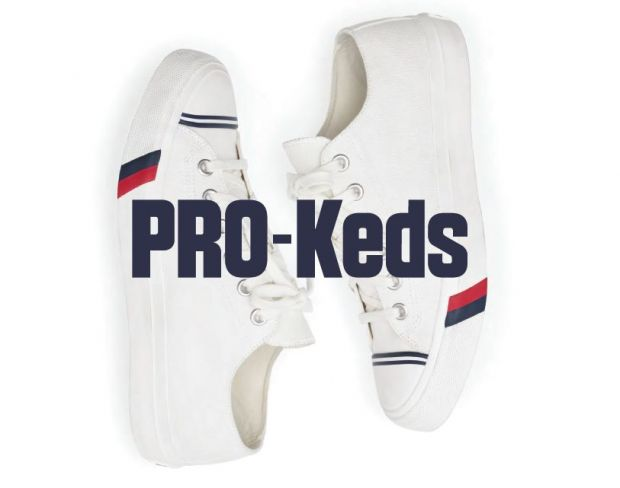 The relaunched PRO-Keds
