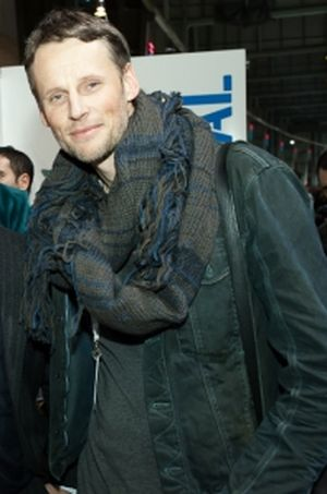 Thorsten Link at a Sportswear International booth party in Berlin