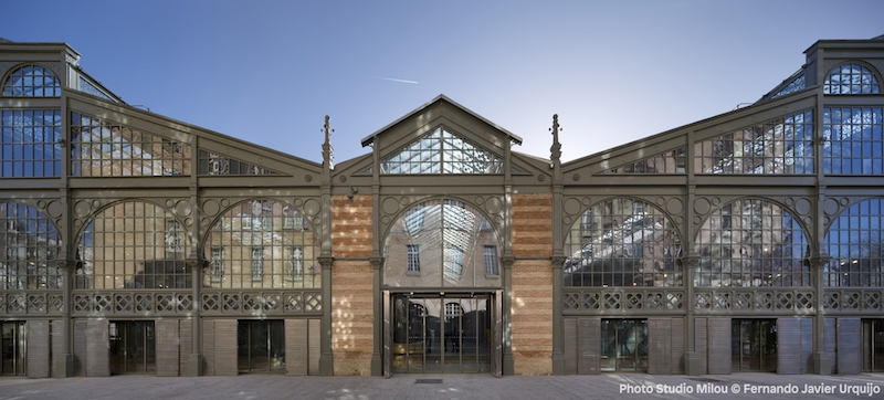 Carreau du Temple: facade