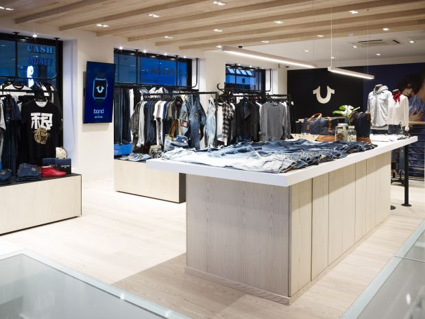 True Religion store in London