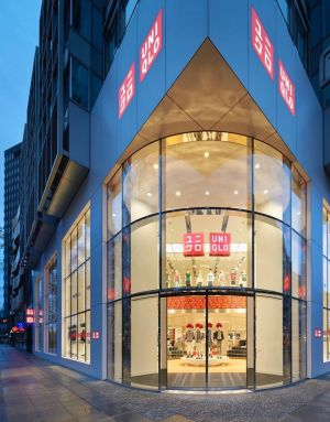 Uniqlo's first German store at Tauentzienstraße Berlin