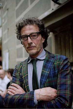 Vincenzo Reggiani, owner of the Lacerba menswear store in Rimini