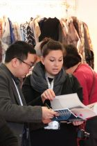 Visitors at the last edition of Asia Apparel Expo