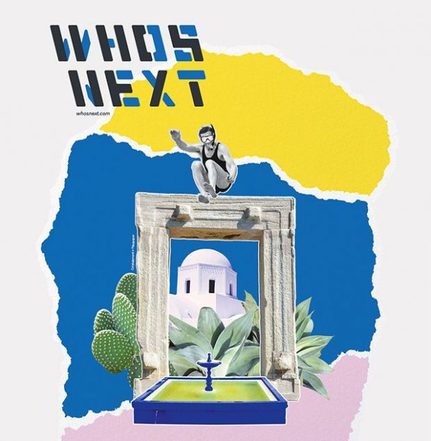 Who's Next – summery visuals for the soon-to-be-held edition.
