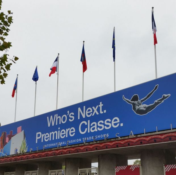 Who's Next entrance at the Porte de Versailles venue in Paris.