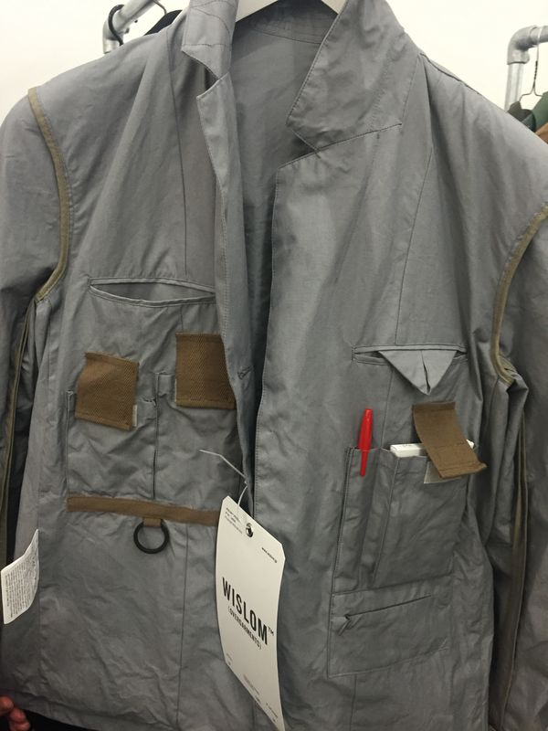 Wislom's multifunctional jacket